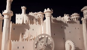 Moleskine Game Of Thrones Video Made of Paper
