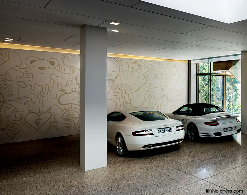 SAOTA Architizer A+Award -Graffiti in garage