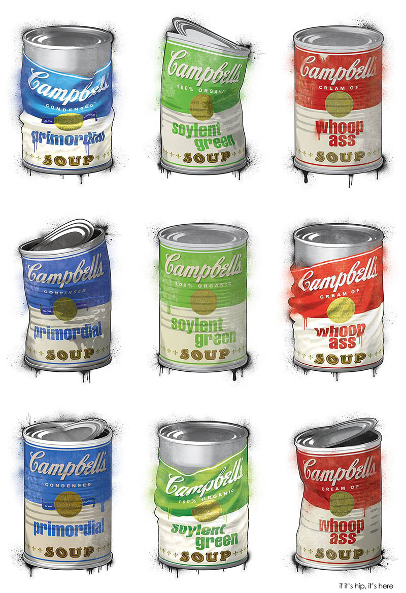 campbells soup kitchen collection of prints