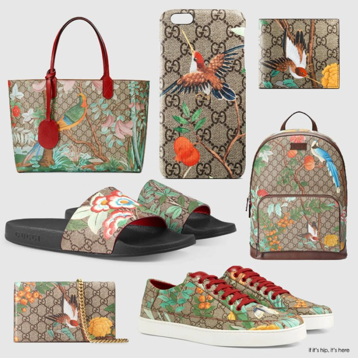 examples of pieces in Gucci Tian Collection if it's hip, it's here
