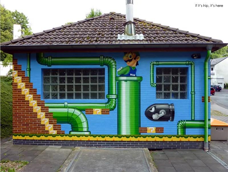 MEGX Mario water storagefor WSW