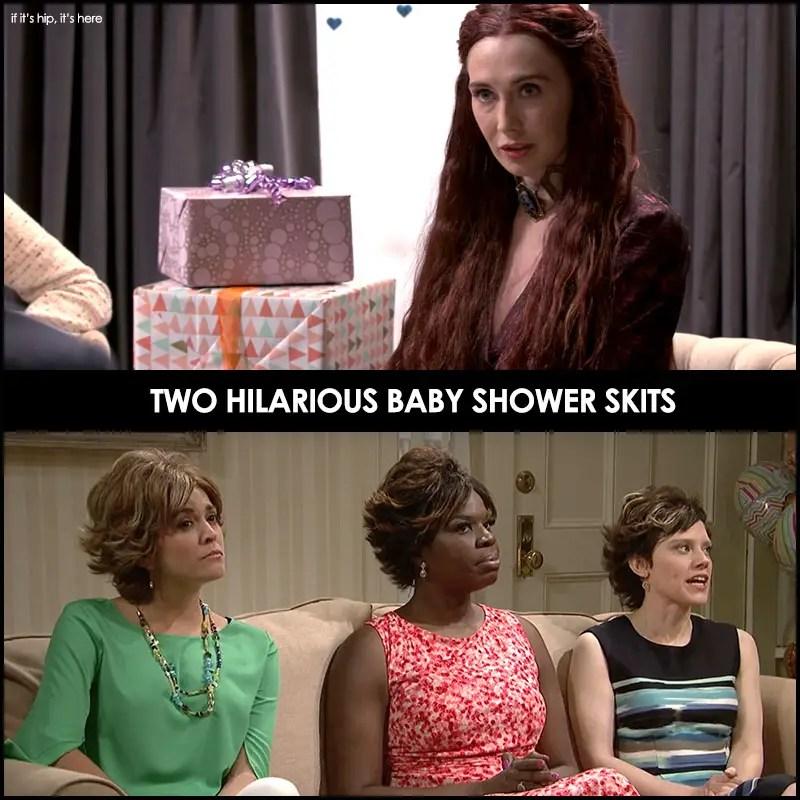 baby shower skits