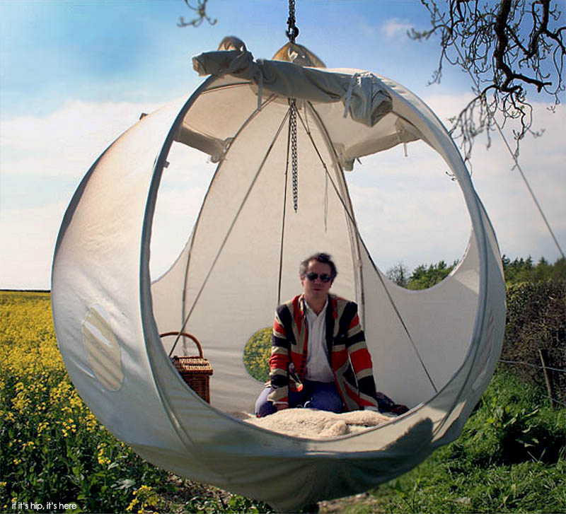 The Roomoon Suspended Spherical Tent