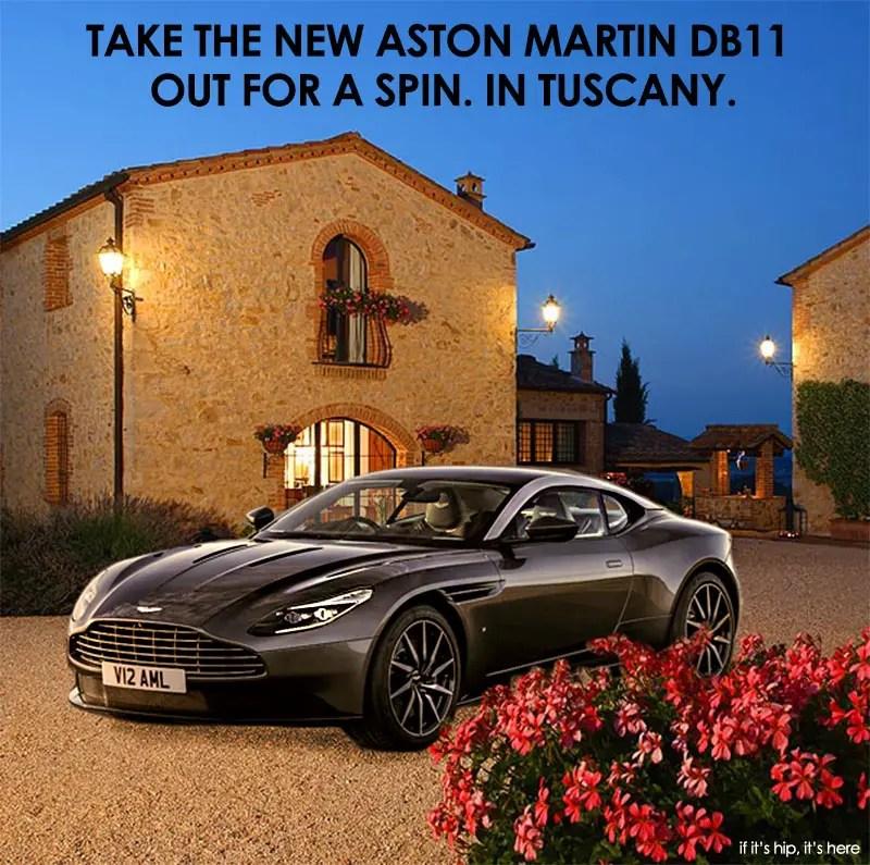 Aston Martin DB11 Tuscany Trip