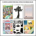 12 Artists Illustrate 'What Kind of Place Are You?' for Herman Miller