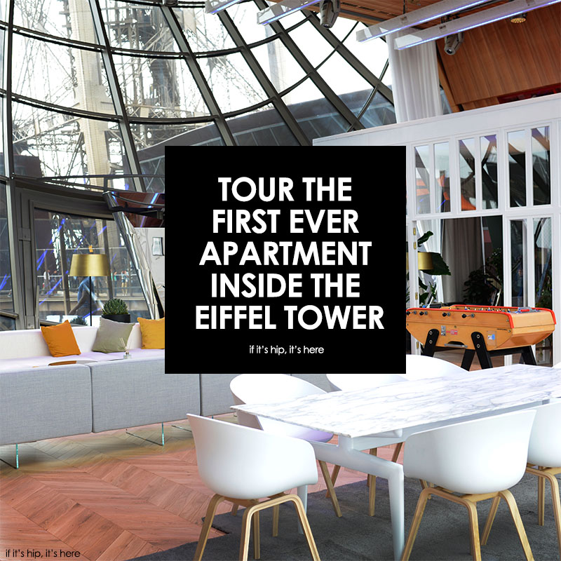 apartment inside the eiffel tower