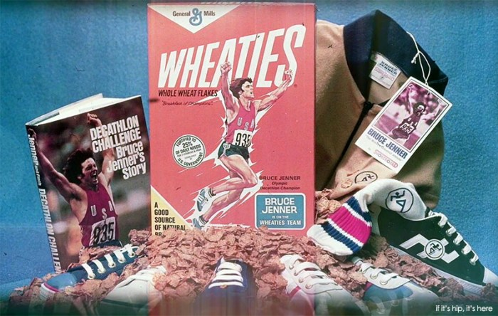 After the 1976 Olympics, Bruce Jenner was a household name and a favorite for brand sponsorships