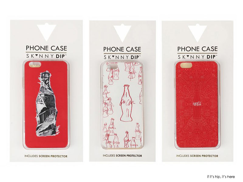 Special Edition Coca Cola iPhone 6/6S Covers from Skinnydip