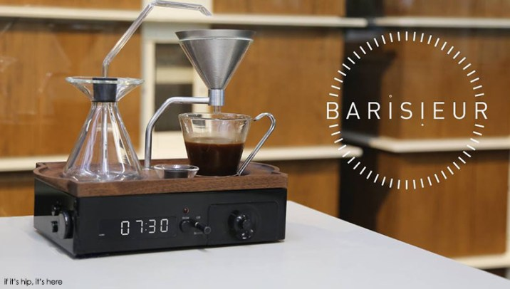 Barisieur Alarm Clock Espresso Maker