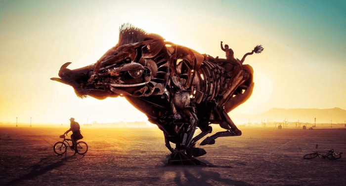 Lord Snort Burning Man 2016