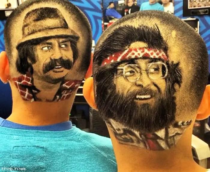cheech and chong haircuts