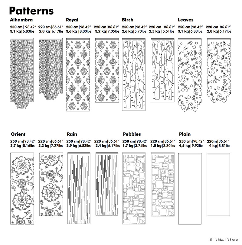 Sound Absorbing Room Dividers