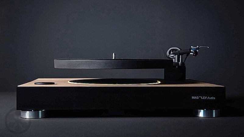 world's first levitating turntable