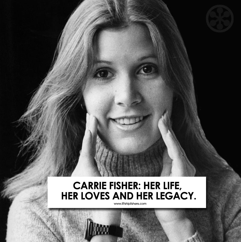 Carrie Fisher's Life in Pictures