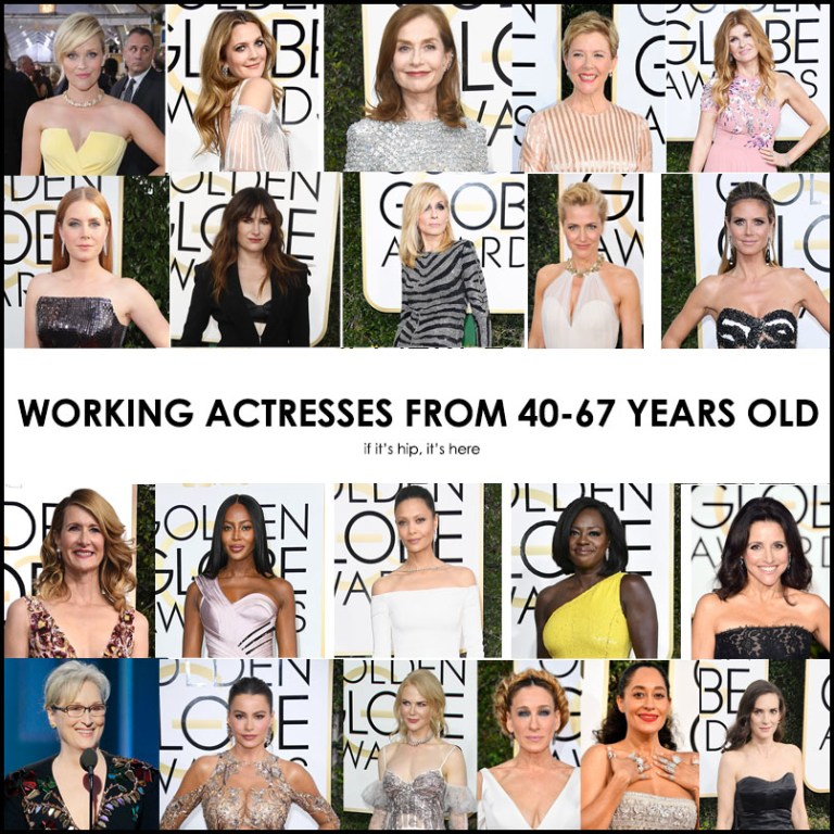 2017 Golden Globes Actresses Over 40
