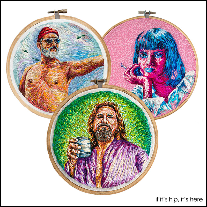 danielle clough pop culture embroidery