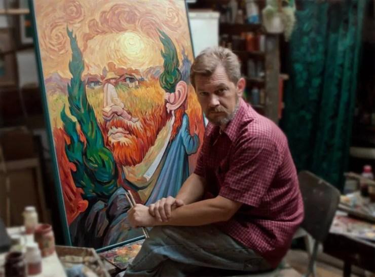 Oleg Shuplyak hidden figure paintings on if its hip its here