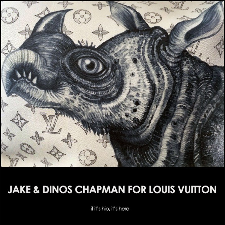 jake and dinos chapman for louis vuitton