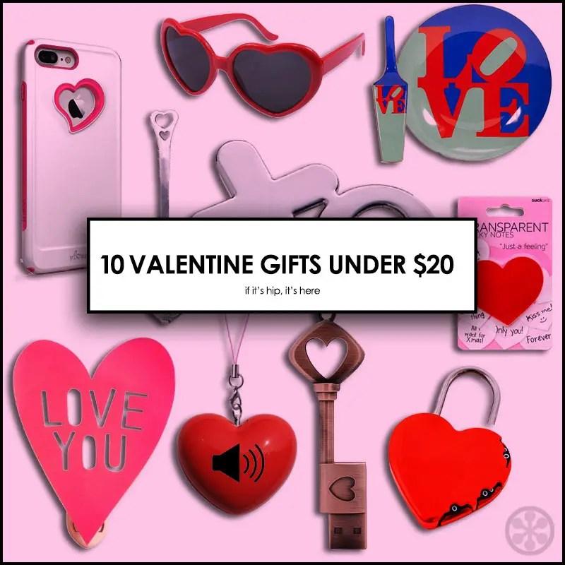 Valentine Gifts Under $20
