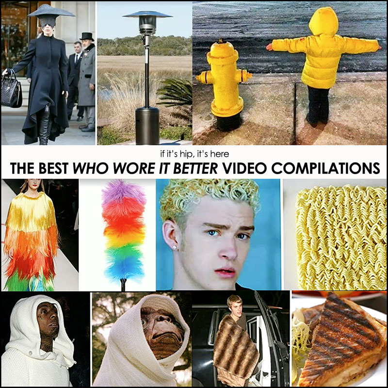 Who Wore It Better? Video Compilations