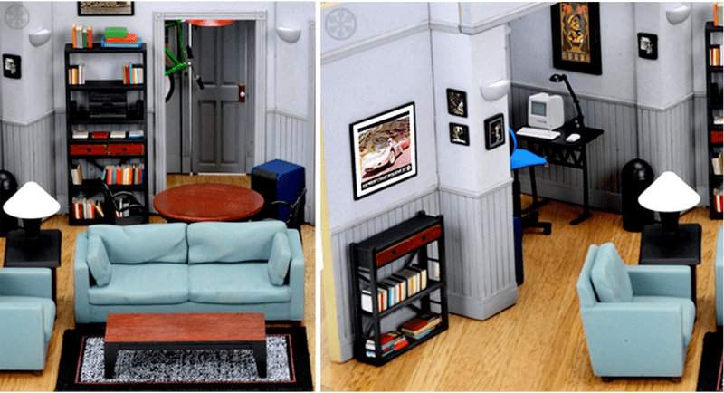 This Seinfeld Set Replica of Jerry's Apartment Tops My ...