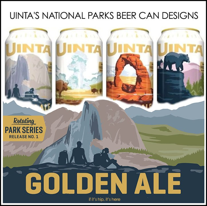 national parks beer can designs