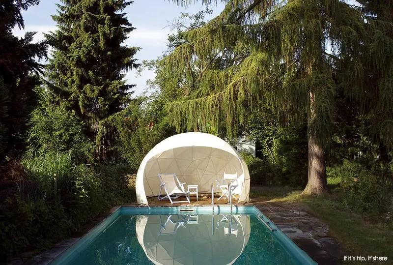 Garden igloo canopy