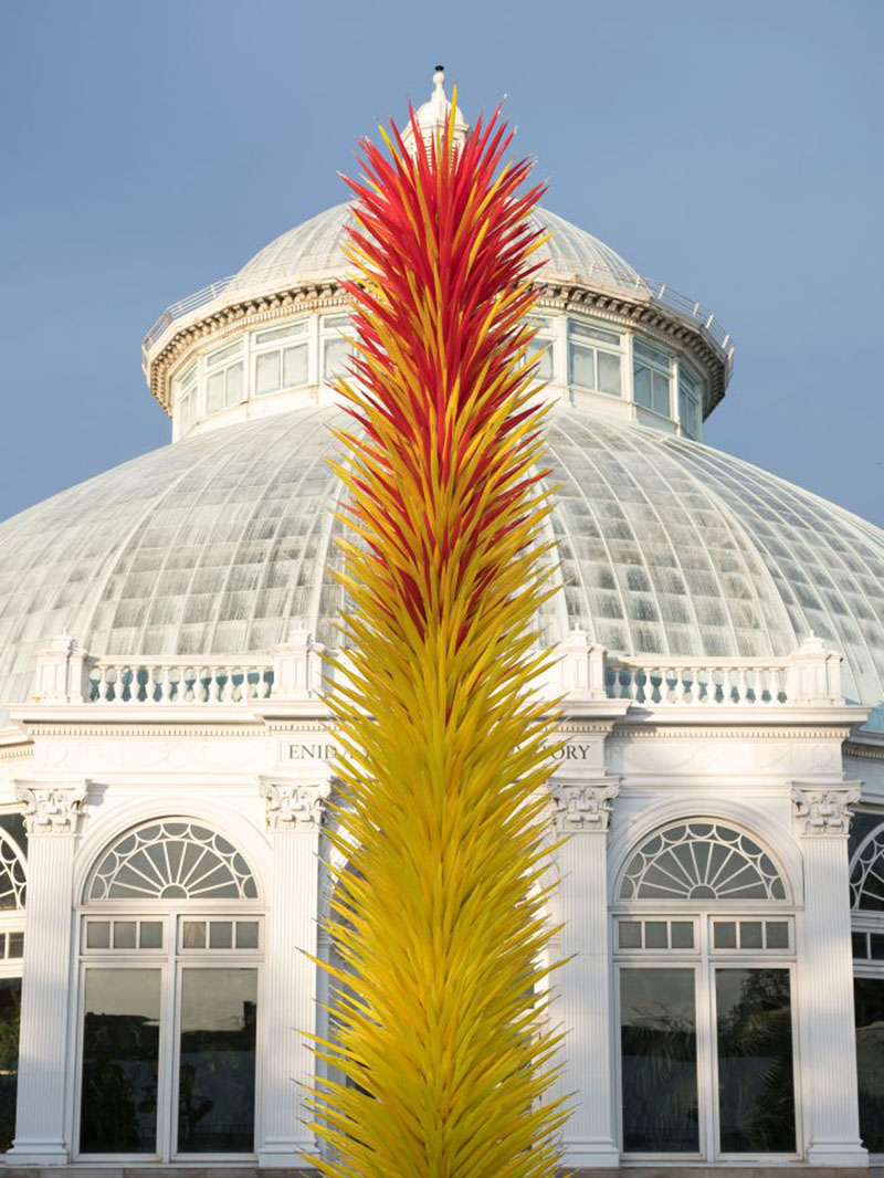 Dale Chihuly At The New York Botanical Garden All The