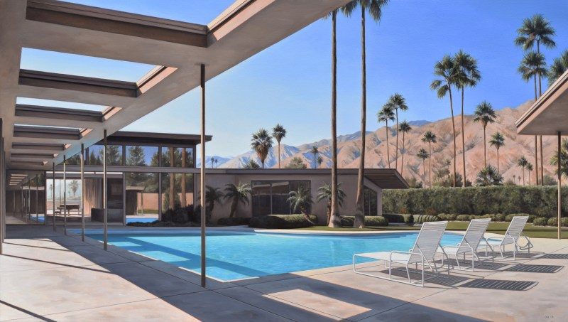 Twin Palms Afternoon by Danny Heller