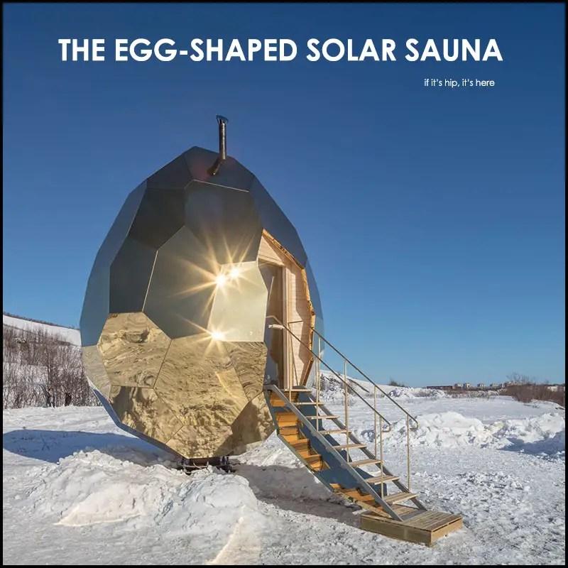 Bigert Bergstrom Solar Sauna