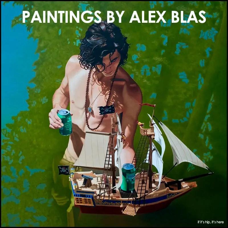 Paintings by Alex Blas