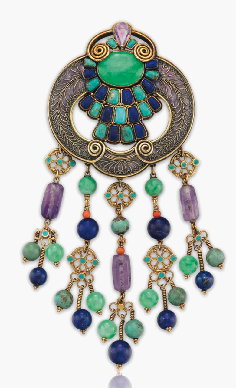 Louis Comfort Tiffany Jewelry From Upcoming Christie S