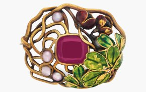 Louis Comfort Tiffany Jewelry From Upcoming Christie's Auction