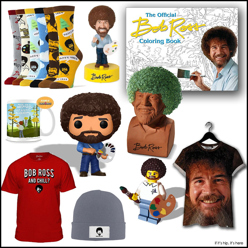 Bob Ross Coloring Book If It S Hip It S Here