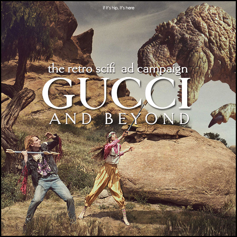 Gucci and Beyond ad campaign