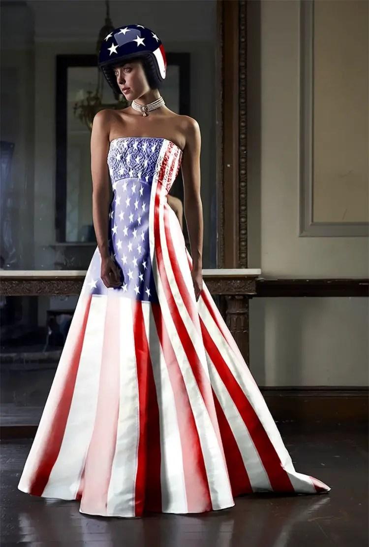 Patriotic Wedding Dress 90 Trend Patriotic wedding gowns by