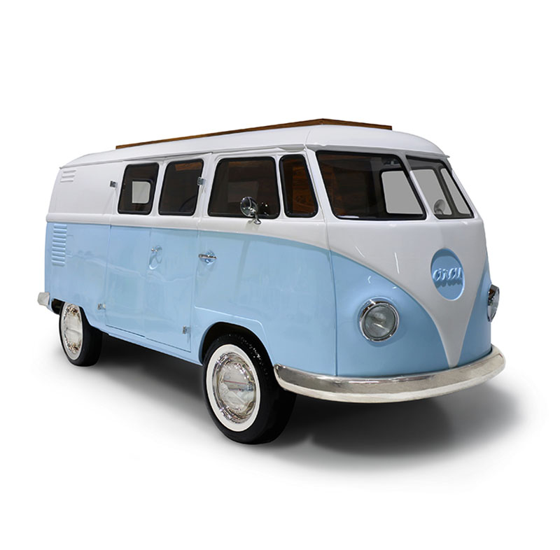 Limited Edition Retro VW Bus Bed for Kids in Blue or Pink