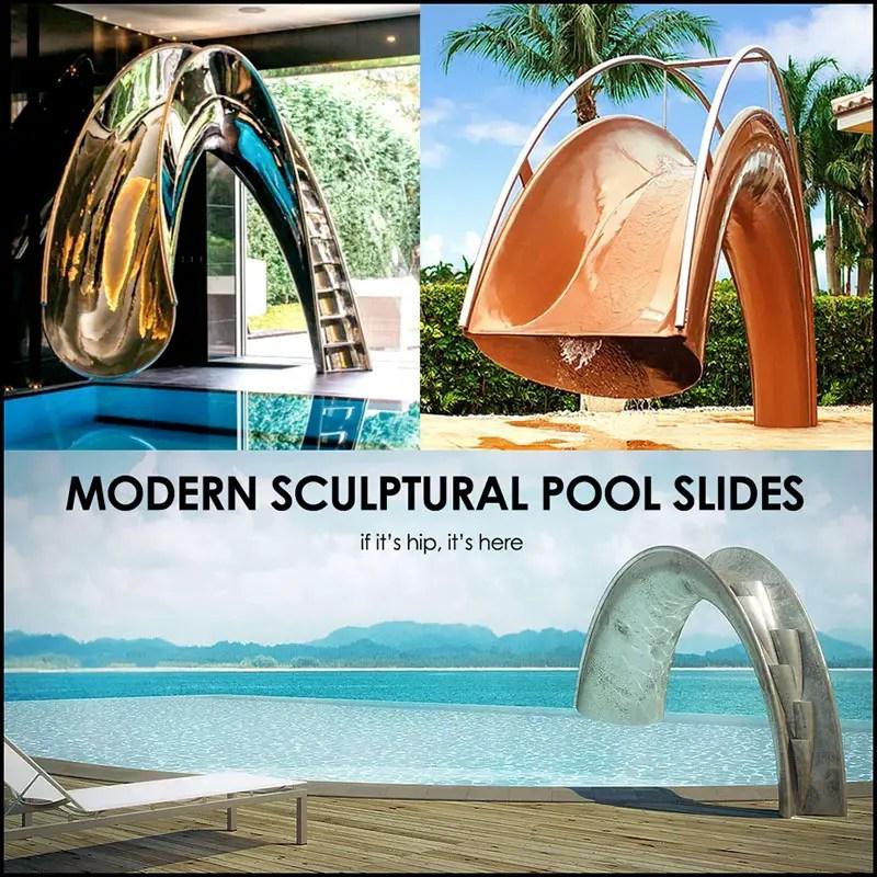 Luxury pool Slides