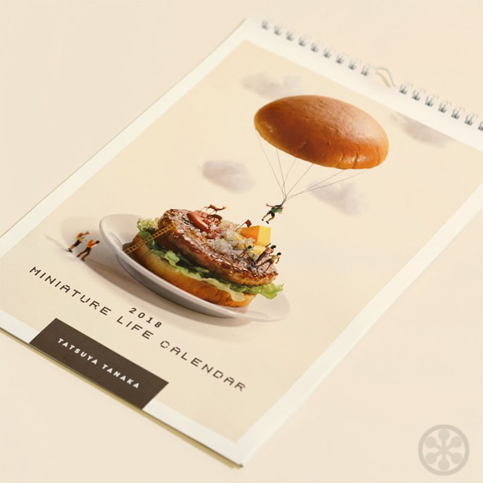 Tanaka Tatsuya Miniature Life Calendar 2018