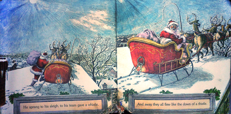 The Night Before Christmas The Book