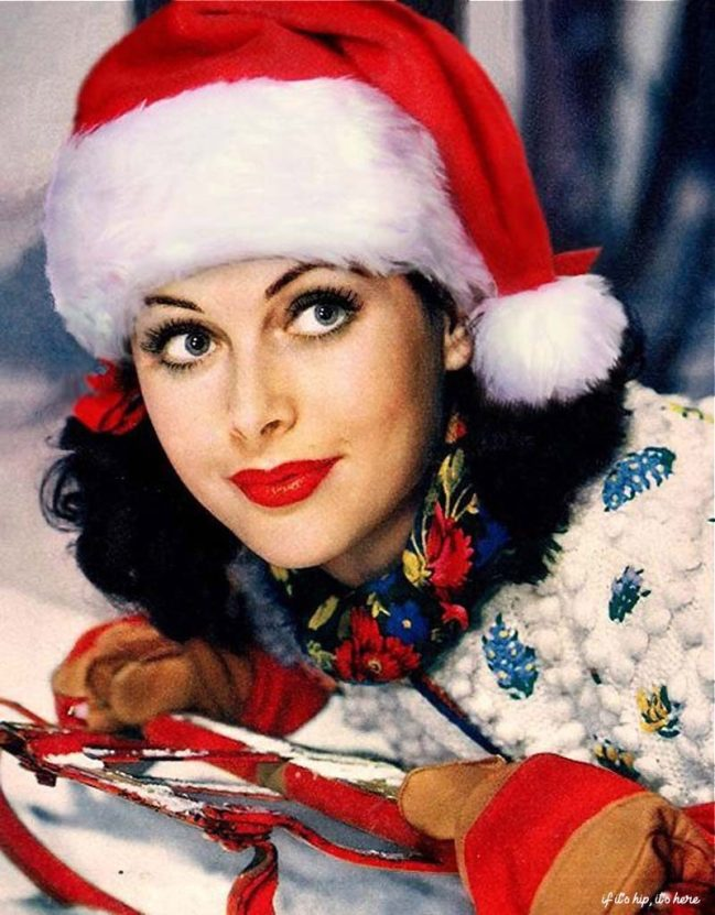40 Vintage Hollywood Colorful Christmas Celebrity Photos If It S Hip It S Here