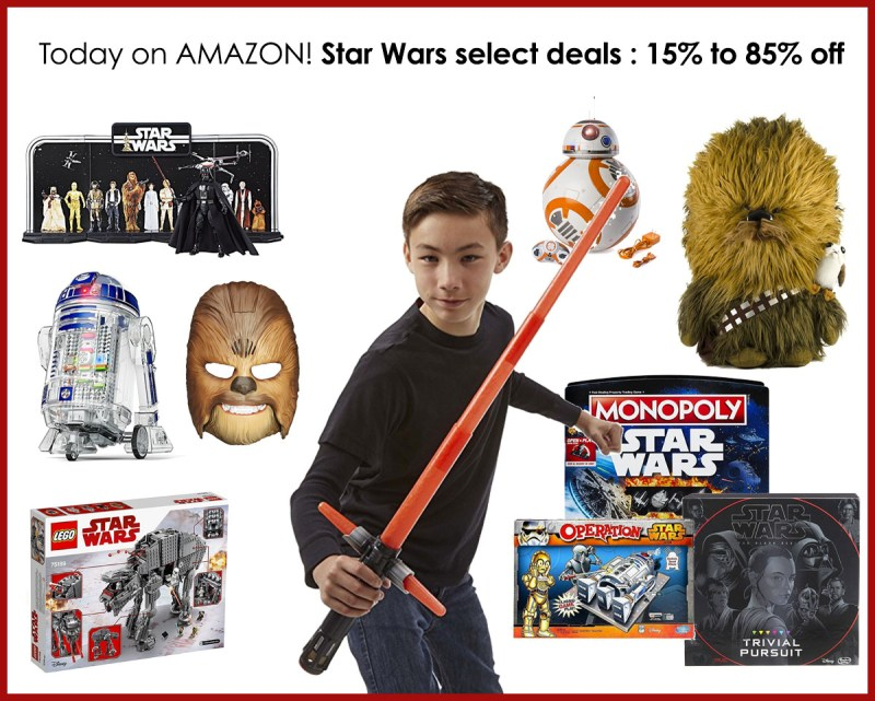 Amazon Deals on Star Wars Toys