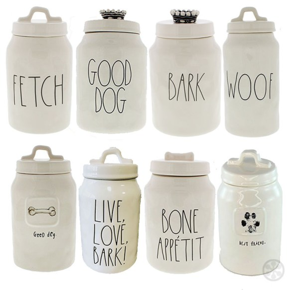 Here Boy! The Most Stylish Dog Treat Jars Available | if