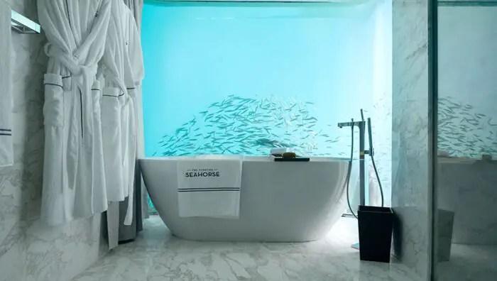 seahorse villa bathroom