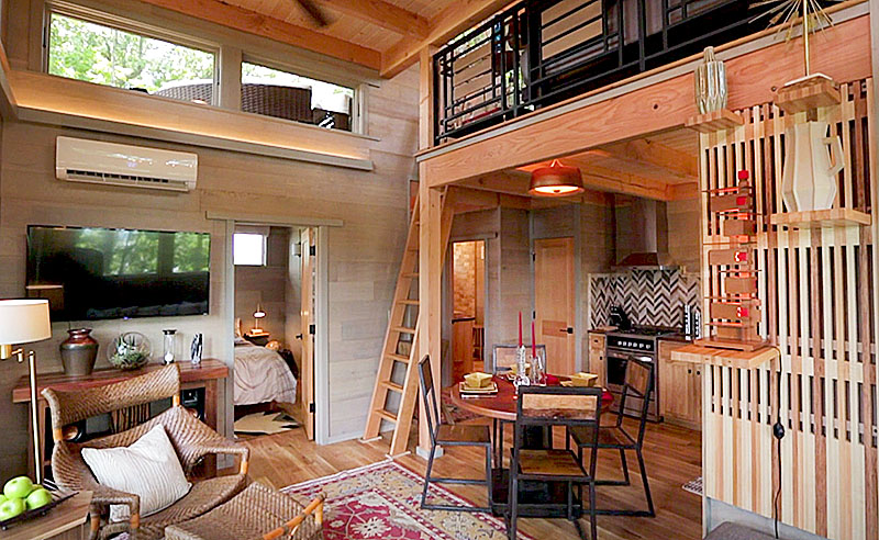 Spectacular Frank Lloyd Wright Inspired Treehouse If It