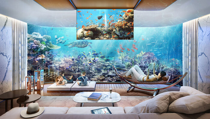 underwater home interior design