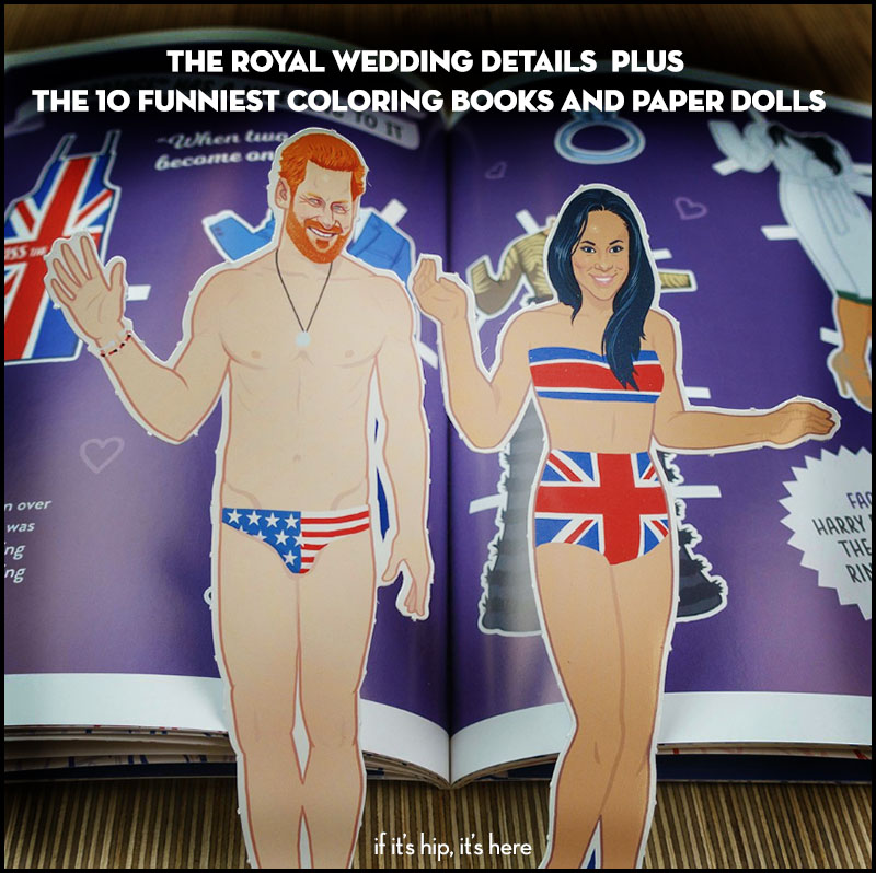 Prince Harry And Meghan Markles Wedding Day Amp Activity Books