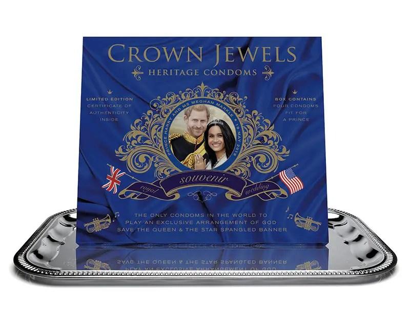 Royal Wedding Crown Jewels Condoms