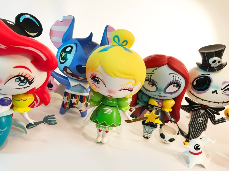 The World of Miss Mindy  Disney Showcase Designer Vinyls Series 1 and 2  have just been released. Each of the 7″ tall 10 vinyls combines the magic of  Disney ... 59823eb54494