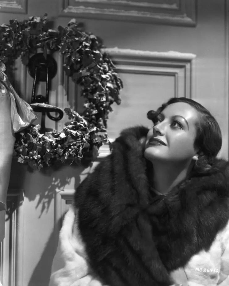 joan crawford 1930s christmas